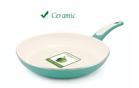 Ceramic pans: Advanced replacement for teflon - Credit: GreenPanTM