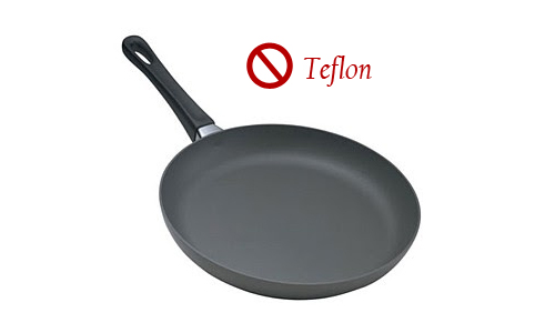 Teflon - Most common toxin found in non-stick pans