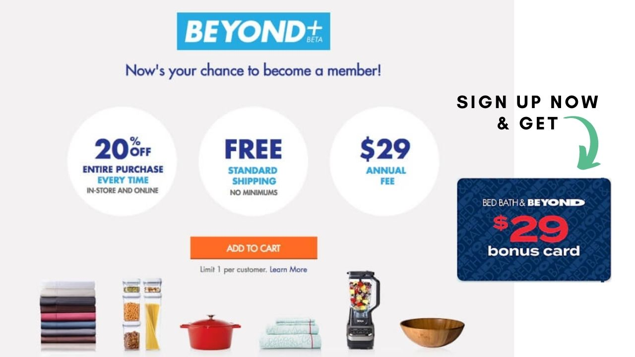 Bed Bath And Beyond Membership Discount