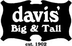 Davis Big And Tall Coupons 15% OFF Orders of $500+